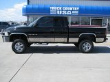 2001 Black Dodge Ram 1500 SLT Club Cab 4x4 #28659751