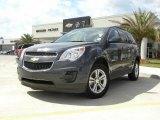 2010 Cyber Gray Metallic Chevrolet Equinox LT #28659284