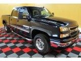 2006 Dark Blue Metallic Chevrolet Silverado 1500 LT Crew Cab 4x4 #28659662