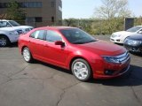2010 Red Candy Metallic Ford Fusion SE #28659320