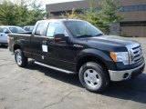 2010 Tuxedo Black Ford F150 XLT SuperCab 4x4 #28659323