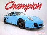 2010 Porsche 911 Light Blue Paint to Sample