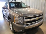 2008 Graystone Metallic Chevrolet Silverado 1500 LT Extended Cab 4x4 #28659710