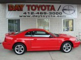 2002 Torch Red Ford Mustang GT Coupe #28659201
