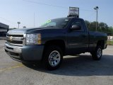 2010 Blue Granite Metallic Chevrolet Silverado 1500 LT Regular Cab #28659478
