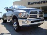 2010 Mineral Gray Metallic Dodge Ram 3500 Laramie Crew Cab 4x4 Dually #28659719