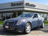 2009 Blue Diamond Tri-Coat Cadillac CTS Sedan #2858682