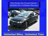 2007 Nighthawk Black Pearl Honda Civic EX Sedan #28659226