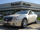 2009 Gold Mist Cadillac CTS Sedan #2858678