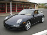 2007 Midnight Blue Metallic Porsche 911 Carrera Coupe #28659924