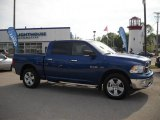 2009 Deep Water Blue Pearl Dodge Ram 1500 Big Horn Edition Crew Cab 4x4 #28659937