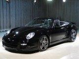2008 Black Porsche 911 Turbo Cabriolet #28706104