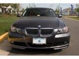 2007 Sparkling Graphite Metallic BMW 3 Series 335i Sedan #28723330