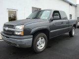 2003 Dark Gray Metallic Chevrolet Silverado 1500 Extended Cab 4x4 #28723485