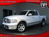 2010 Stone White Dodge Ram 1500 Laramie Crew Cab 4x4 #28723391