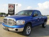 2008 Electric Blue Pearl Dodge Ram 1500 ST Quad Cab #28753293