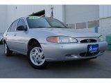 2001 Silver Frost Metallic Ford Escort SE Sedan #28759484