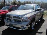 2010 Light Graystone Pearl Dodge Ram 1500 Big Horn Quad Cab 4x4 #28759492