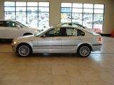 2003 Titanium Silver Metallic BMW 3 Series 330xi Sedan #28759494