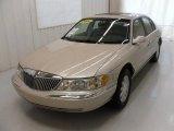 2001 White Pearl Tri-Coat Lincoln Continental  #28759524