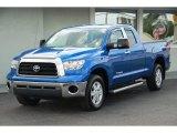 2007 Blue Streak Metallic Toyota Tundra SR5 TRD Double Cab 4x4 #28759390