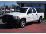 2006 Bright White Dodge Ram 1500 ST Quad Cab #28759009