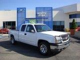 2005 Summit White Chevrolet Silverado 1500 Z71 Extended Cab 4x4 #28759182