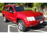 2002 Inferno Red Tinted Pearlcoat Jeep Grand Cherokee Limited #28759577