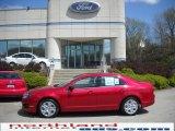 2010 Sangria Red Metallic Ford Fusion SE #28759028