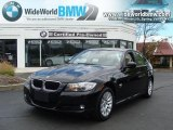 2009 Black Sapphire Metallic BMW 3 Series 328xi Sedan #28759040