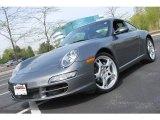 2007 Meteor Grey Metallic Porsche 911 Carrera Coupe #28400525