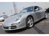 2007 Arctic Silver Metallic Porsche 911 Carrera S Coupe #28594501
