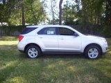 2010 Summit White Chevrolet Equinox LS #28802378