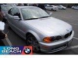 2001 Titanium Silver Metallic BMW 3 Series 325i Coupe #28802200