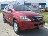 2009 Spicy Red Kia Sorento LX 4x4 #28802618