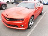 2010 Inferno Orange Metallic Chevrolet Camaro SS/RS Coupe #28802625