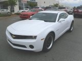 2010 Summit White Chevrolet Camaro LS Coupe #28802631