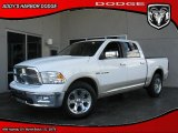 2010 Stone White Dodge Ram 1500 Laramie Crew Cab 4x4 #28801935