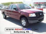 2006 Dark Toreador Red Metallic Ford F150 XL SuperCab 4x4 #28802422