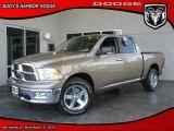 2010 Austin Tan Pearl Dodge Ram 1500 Big Horn Crew Cab #28801938