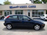 2003 Twilight Blue Metallic Ford Focus ZX3 Coupe #28802275