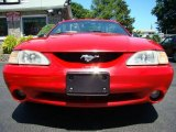 1994 Rio Red Ford Mustang Cobra Convertible #28802109