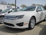 2010 White Suede Ford Fusion SE #28802653