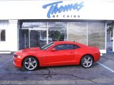 2010 Victory Red Chevrolet Camaro SS Coupe #28802461