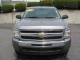 2009 Graystone Metallic Chevrolet Silverado 1500 LT Crew Cab 4x4 #28801976