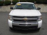 2009 Summit White Chevrolet Silverado 1500 LT Extended Cab 4x4 #28801977
