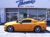 2007 Grabber Orange Ford Mustang GT Premium Coupe #28802482