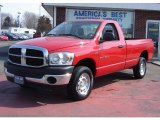 2007 Flame Red Dodge Ram 1500 ST Regular Cab 4x4 #28801875