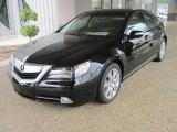 2010 Crystal Black Pearl Acura RL Technology #28802342