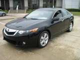 2010 Crystal Black Pearl Acura TSX Sedan #28802344